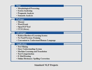 STANDARD NLP PROJECTS